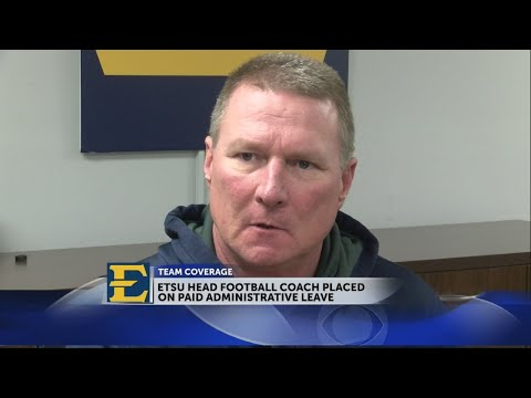 Fans react after ETSU head football coach placed on administrative leave