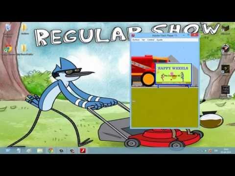Como descargar Happy Wheels Version Completa