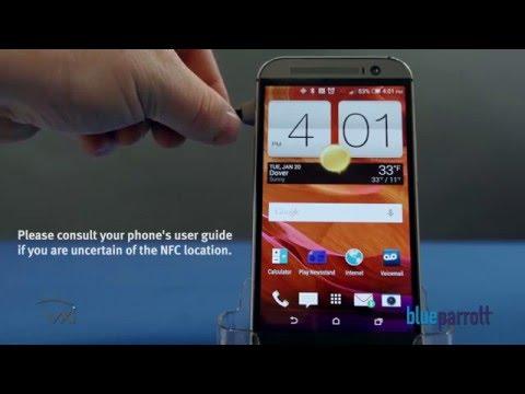 VXi BlueParrott® Reveal NFC Bluetooth® Pairing