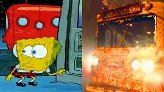 HOW ZOMBIES AND SPONGEBOB ARE THE EXACT SAME THING.