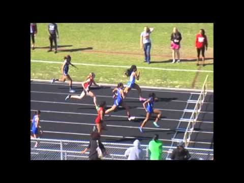 Jerry Arnold Challenge Girls 100 Hurdles 2014