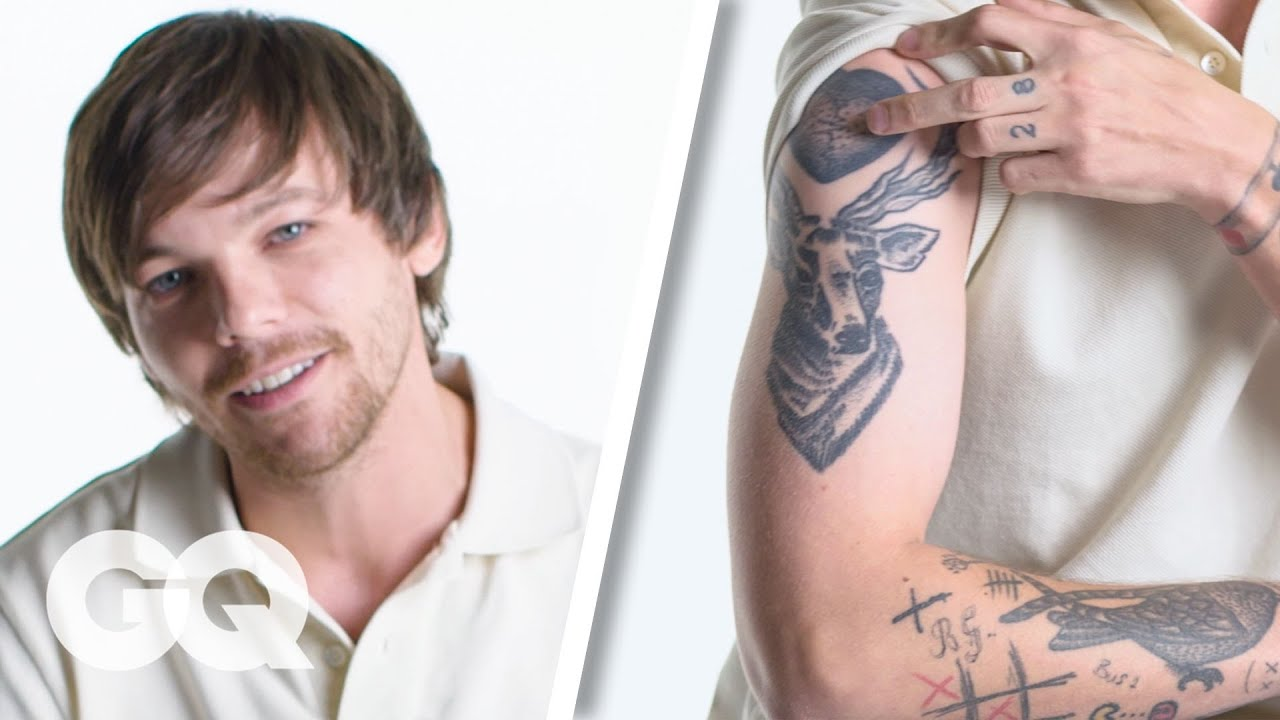 Louis Tomlinson Breaks Down His Tattoos