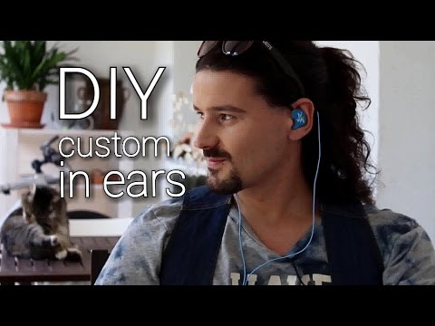 DIY custom in ear monitors - Giessharz- Breddermann- selbstgebaute in ear Kopfhörer -Robert Kaufmann