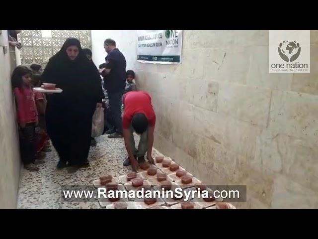 Iftar Day 7 in Syria - Ramadan in Syria 2018