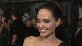Angelina Jolie Talks Date Night With Her Kids at 'Maleficent: Mistress of Evil' Premiere (Exclusi…