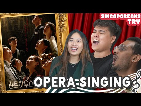 Singaporeans Try: Opera Singing For The First Time