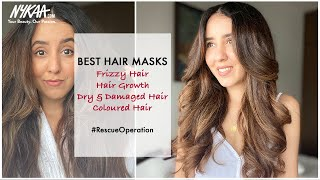 4 Hair Masks For Healthy and Smooth Hair  | Hair Mask For All Hair Types | Nykaa