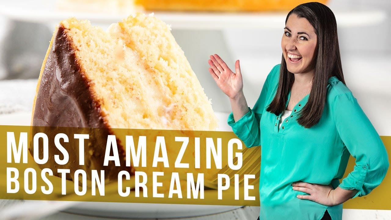 boston cream pie official dessert