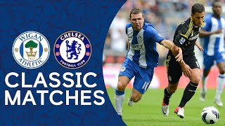 Wigan 0-2 Chelsea | Hazard's Debut Masterclass | Premier League Classic Highlights