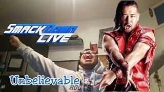 SHINSUKE NAKAMURA DEBUT Smackdown Live | WWE Live Reaction | Full Entrance after Wrestlemania 33