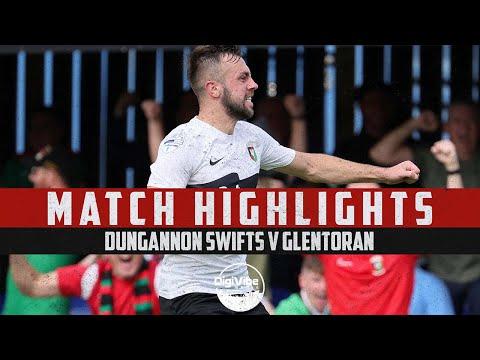 Dungannon Glentoran Goals And Highlights