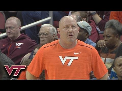 Buzz Williams Wardrobe Malfunction During Virginia Tech vs. Louisville Game