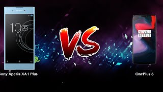 Sony Xperia XA1 Plus vs OnePlus 6   - Phone battle