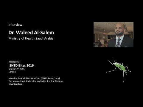 ISNTD interview: Dr. Waleed Al-Salem (Ministry of Health Saudi Arabia)