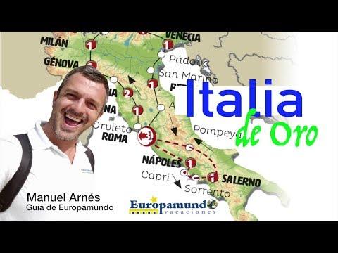 Circuito Italia de Oro por Manuel Arnes, guía de Europamundo