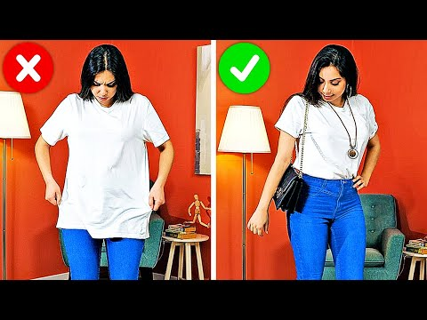 32 BRILLIANT CLOTHES HACKS FOR GIRLS