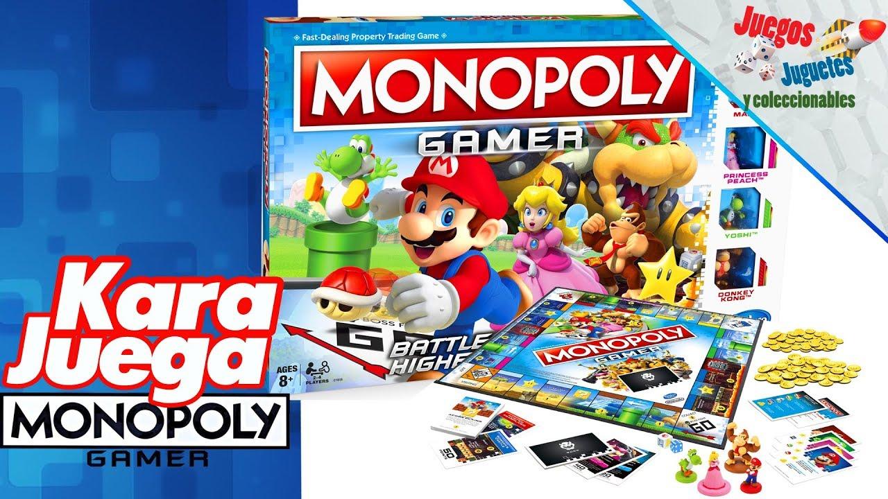 Monopoly Gamer Con Kara Juegos Juguetes Y Coleccionables Youtube