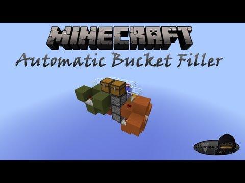 Minecraft: Automatic Bucket Filler