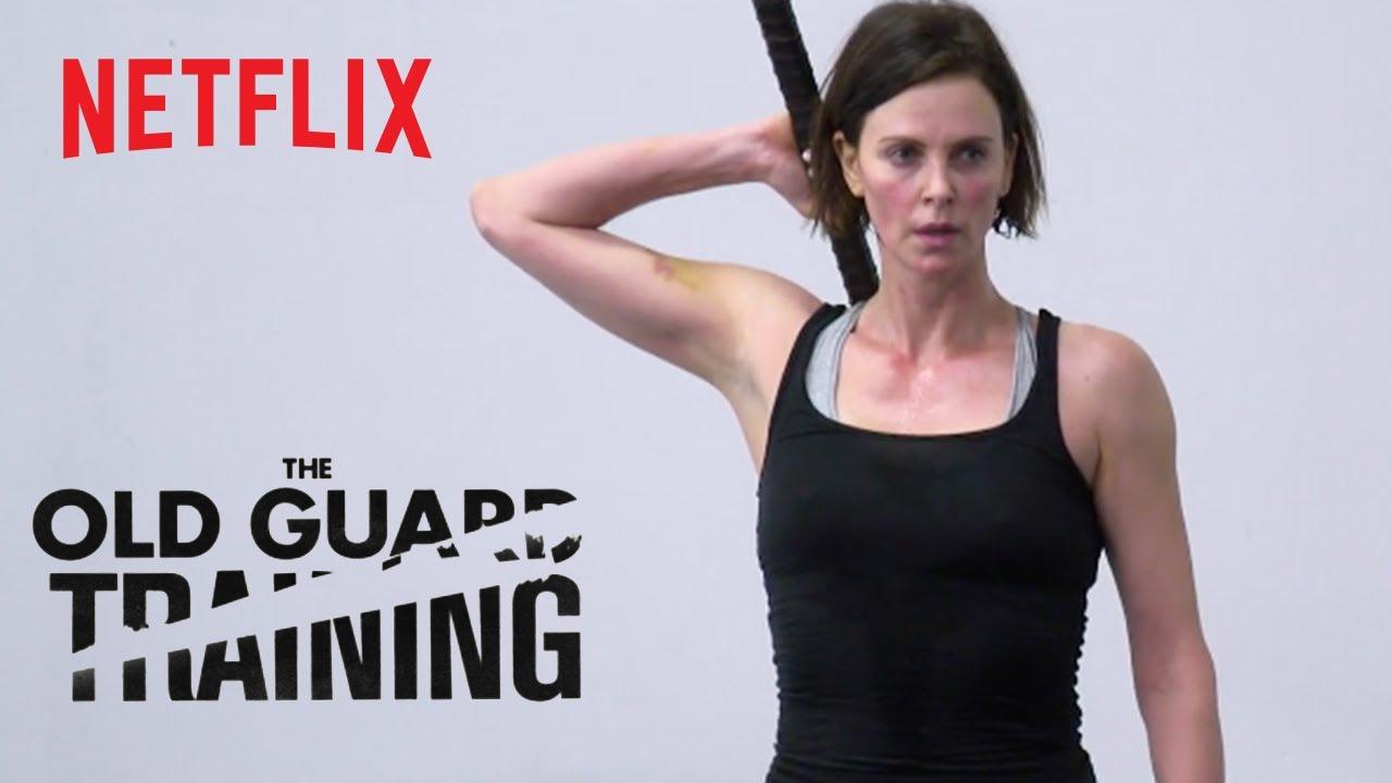 The Old Guard | Combat Training | Netflix