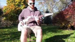 upon a burning body fake plastic smile guitar cover