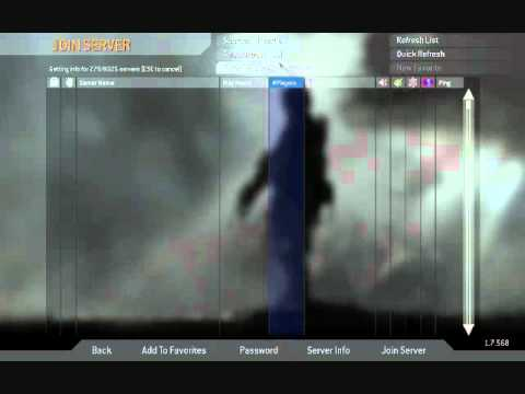 Call of Duty 4: Problems...... Help!!!! servers are not ...