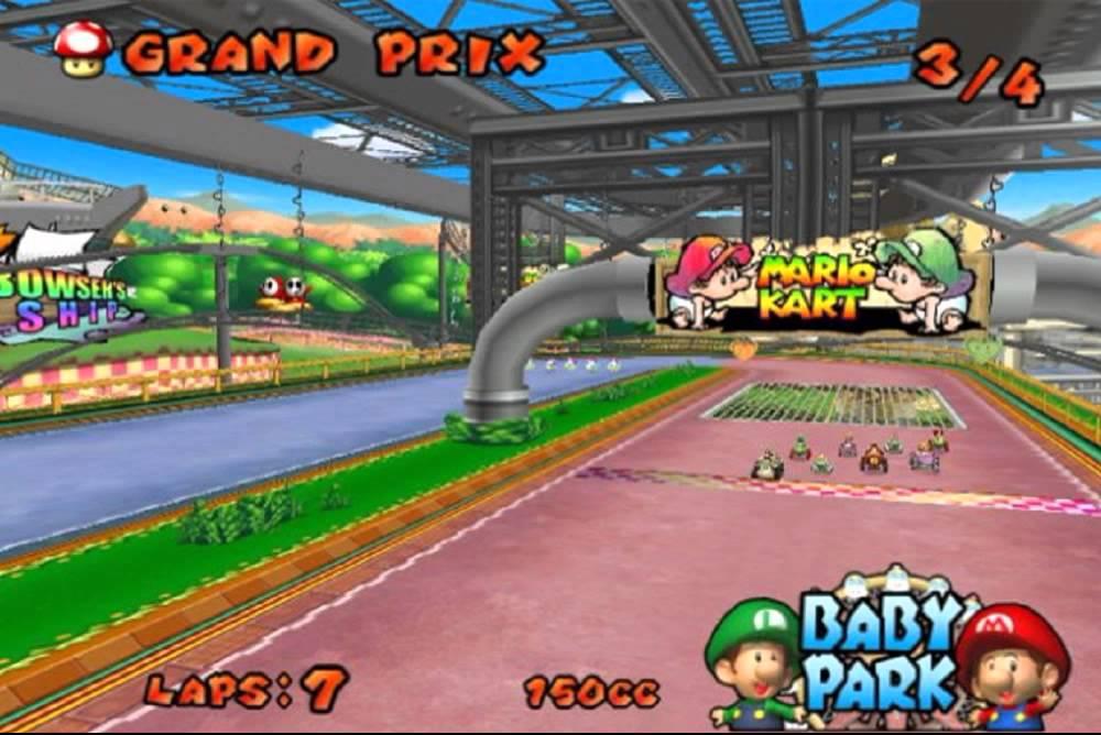 Mario Kart: Double Dash!! (Game) - Giant Bomb  |Baby Mario And Baby Luigi Mario Kart Double Dash
