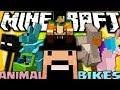 MOB STRANI CHE VORRAI CAVALCARE - Minecraft ITA - Animal Bikes Mod Review