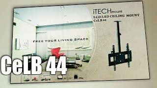 Крепление телевизора к потолку. Потолочное крепление CeLB 44