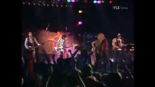 Hanoi Rocks played two dates (January 3 and 4, 1985) in Kulttuurita...