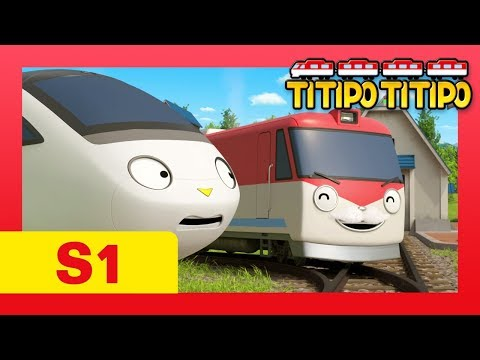 TITIPO S1 EP6 l Can you make a funny face? l Trains for kids l TITIPO TITIPO
