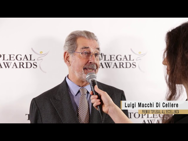 Luigi Macchi di Cellere, Macchi Di Cellere Gangemi - TopLegal Awards 2018