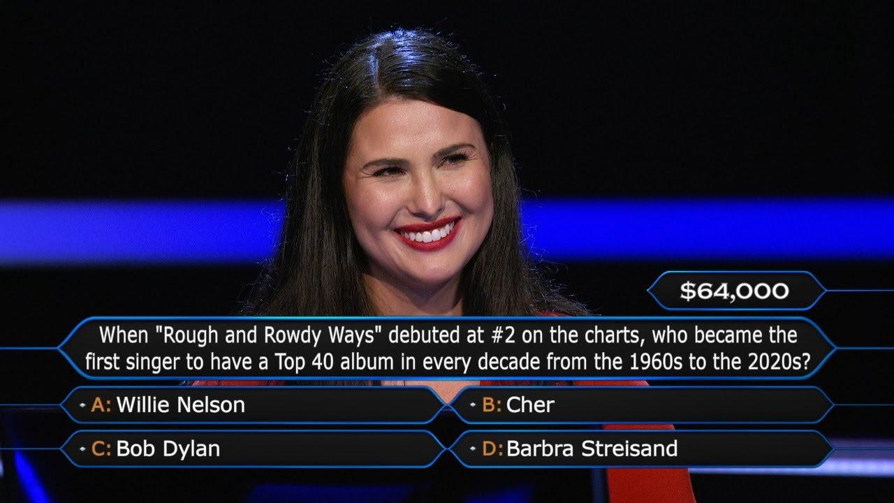 Registered Nurse Amanda Sheehan Faces a Tough Choice - Who Wants To Be A Millionaire