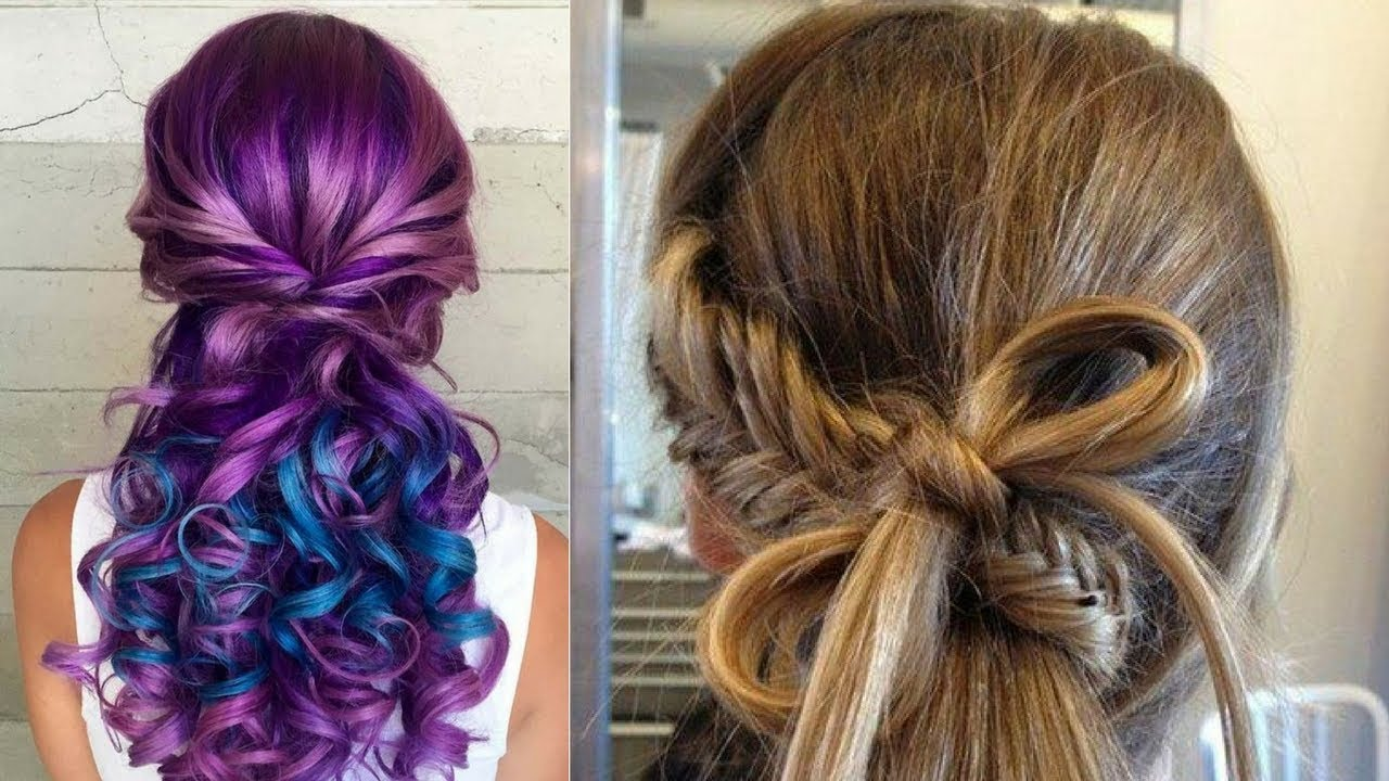 New Hair Dye Styles: Beautiful Hairstyles Compilation
