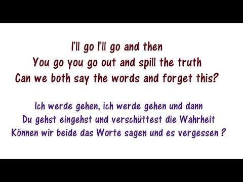 Justin Bieber - Sorry Lyrics Deutsch und Englisch / Lyrics German and English