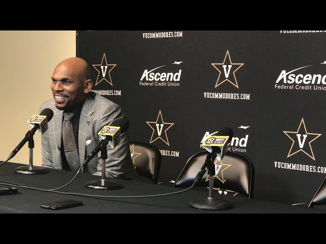 Vanderbilt Commodores Coach Jerry Stackhouse Postgame Interview (03-07-20)