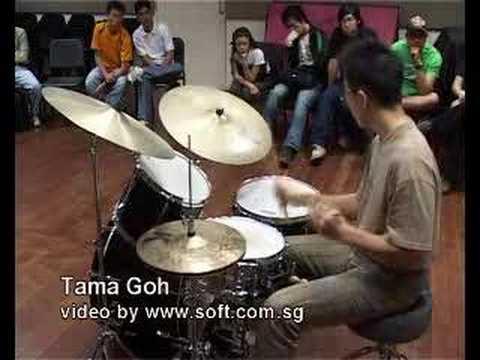 Tama Goh @ Drum Xchange Singapore