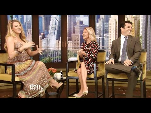 Blake Lively Chats Pregnancy & (Cafe Society) #LiveWithKelly
