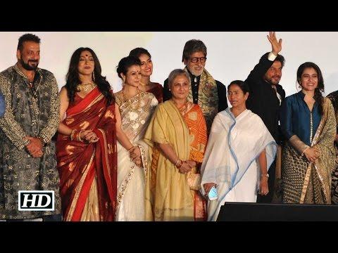 Big B, Shah Rukh, Kajol with Mamta Banerjee at KIFF