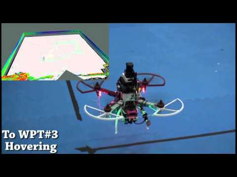 A 2.5D SLAM-aided Navigation Research for Indoor Flight of UAVs and Flight Tests