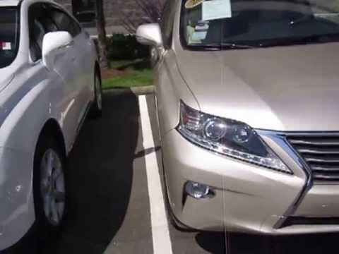 Lexus RX350 2012 Vs 2013