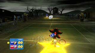 Sega Superstars Tennis: Shadow vs Sonic (Hard)