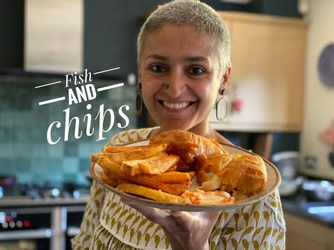 FISH AND CHIPS | How To Make Fish And Chips At Home | #cookwithme #withme | Food With Chetna