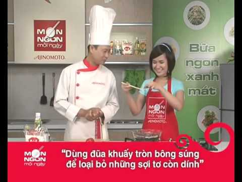 Hướng Dẫn Cách Nấu Ăn Món Canh Bông Súng Nấu Tôm   Món Ngon Mỗi Ngày