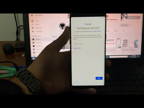 Bypass Google Account Verification on ALL SAMSUNG Android 10 (100% working)
