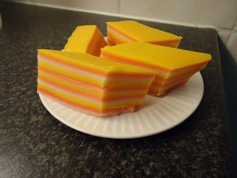 Kue Lapis (laagjes koek/pudding)
