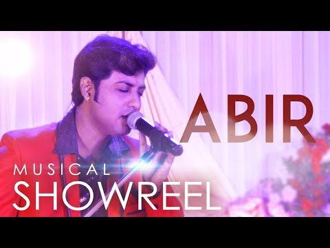 ABIR ROY Showreel|Versatile Vocalist|Musical Performer