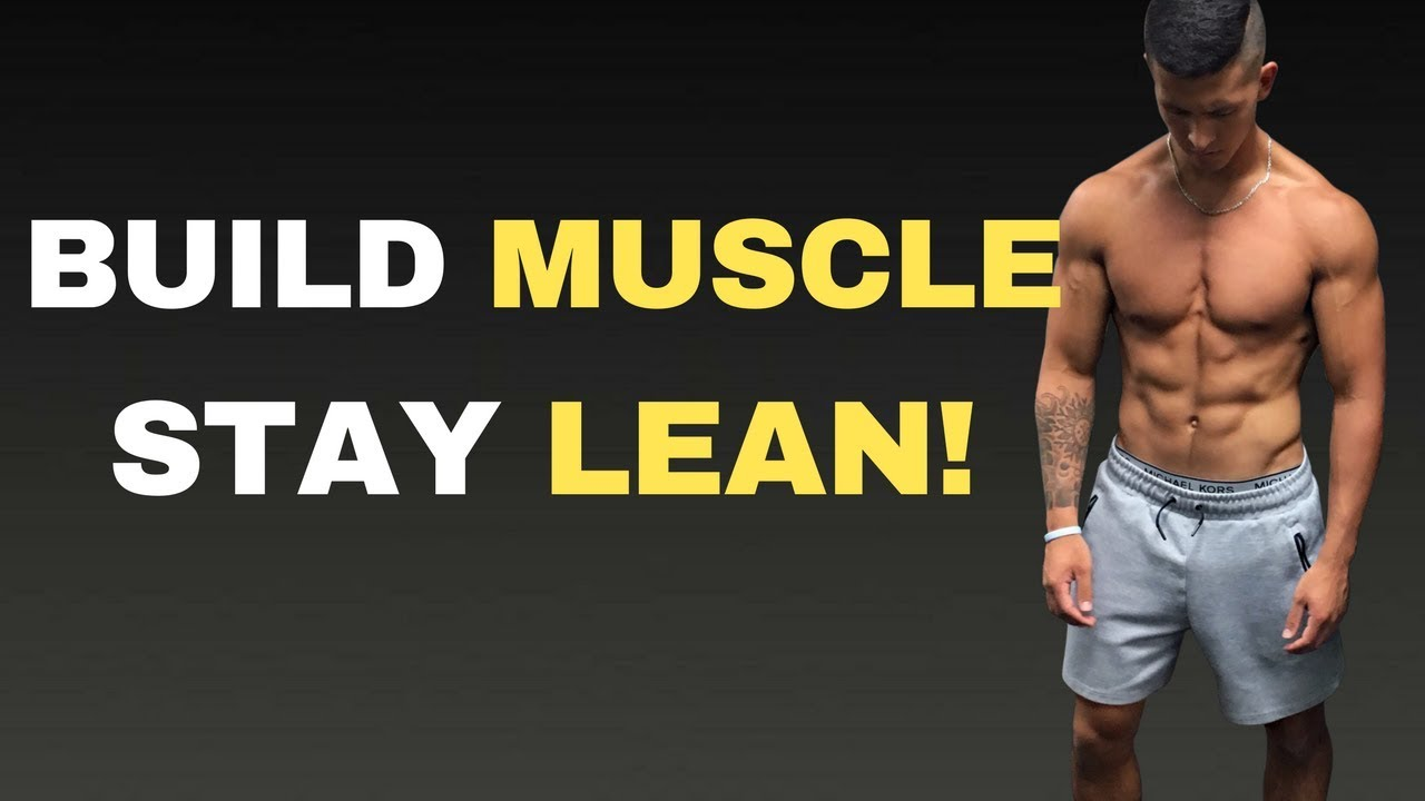 How to Lean Bulk PROPERLY in 5 Steps (Lean Bulking 101)