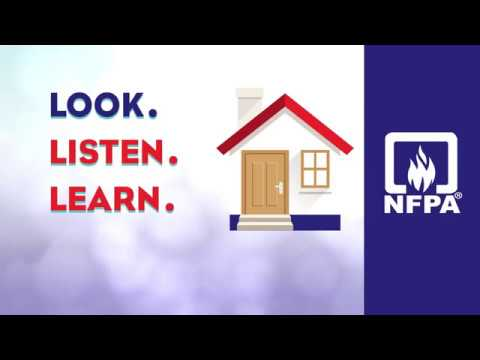 Look Listen Learn - Be Aware  Fire Can Happen Anywhere