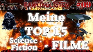 Meine TOP 15 - Science Fiction - Filme