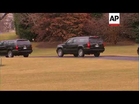 Trump heads for first medical checkup as president